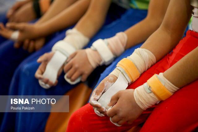 پلیس 110 و تحصن در مسابقات ژیمناستیک دختران!