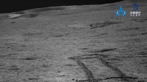 طی مسافت 367 متری توسط ماهنورد چینی در سمت پنهان ماه