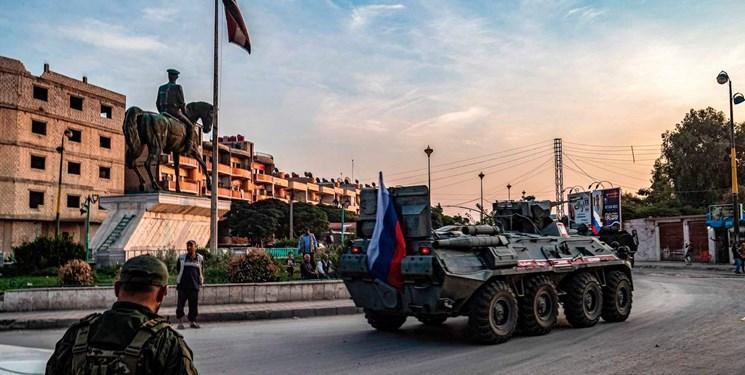 ویدئو، روسیه پایگاه سابق آمریکا در رقه را در اختیار گرفت