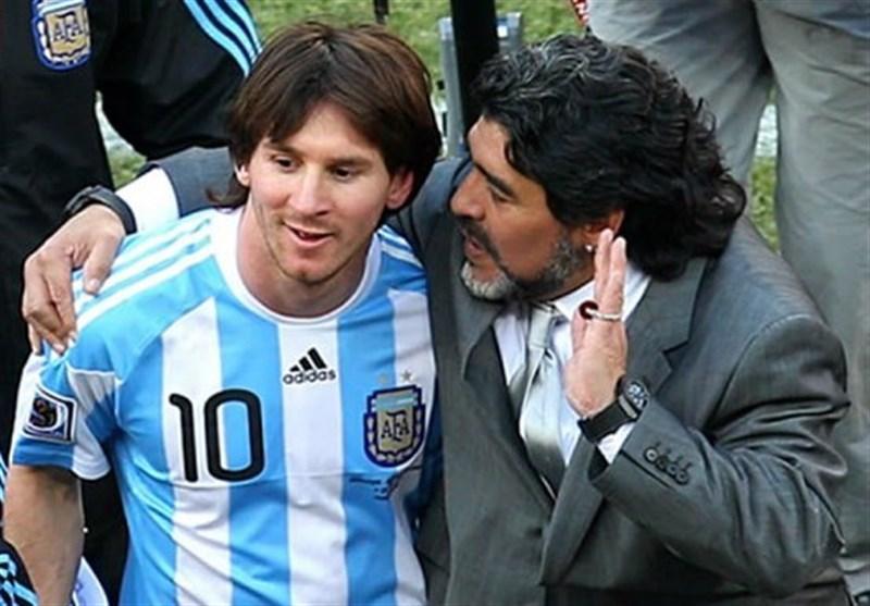ساچی: مسی؟ هیچگاه بازیکنی تأثیرگذار به اندازه مارادونا ندیده ام