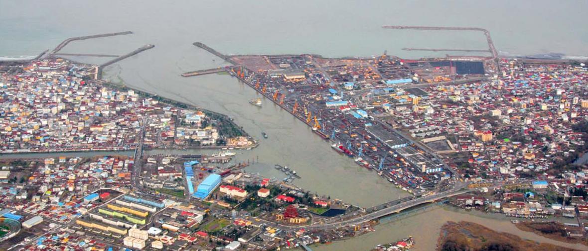 مرکز تفریحات دریایی در بندر انزلی افتتاح شد