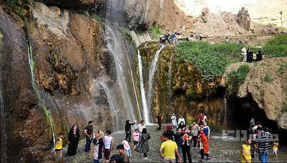 بی بی سیدان ، آبشاری که باید دید