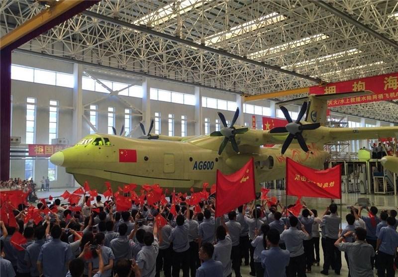 چین از بزرگترین هواپیمای آبی-خاکی دنیا رونمایی کرد