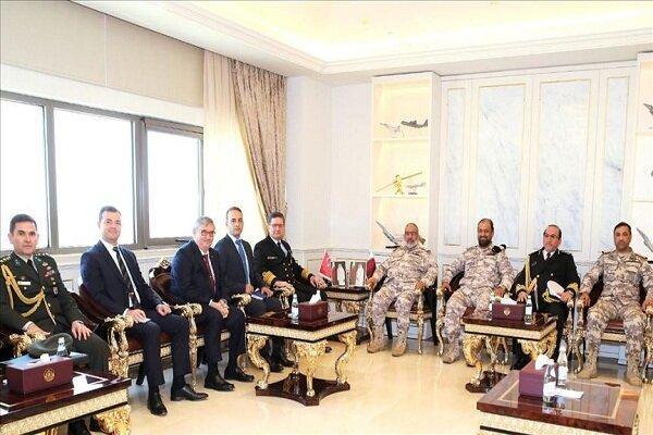 مقامات ارشد ارتش ترکیه و قطر ملاقات کردند