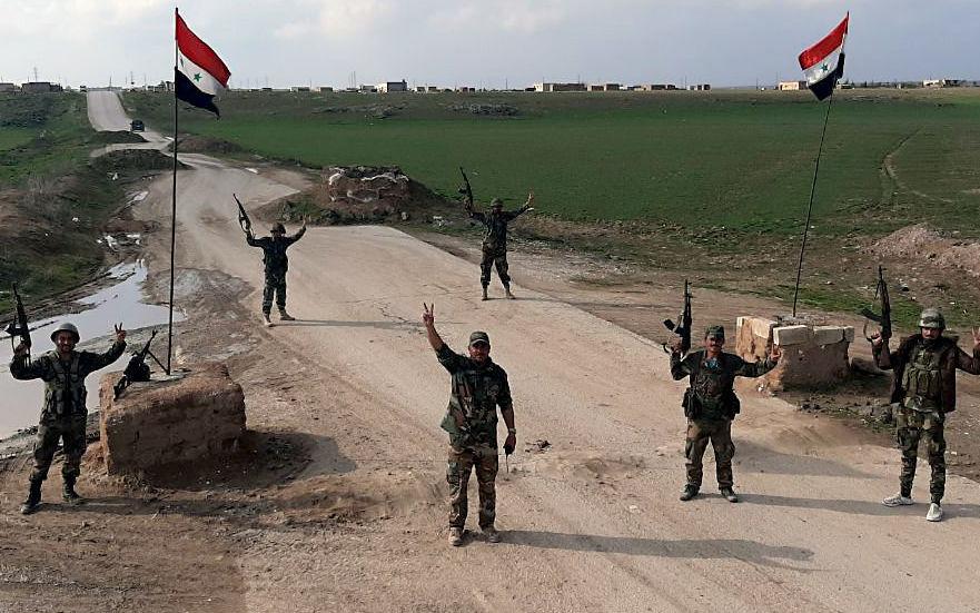 ارتش سوریه بار دیگر سد راه گشتی های آمریکایی شد