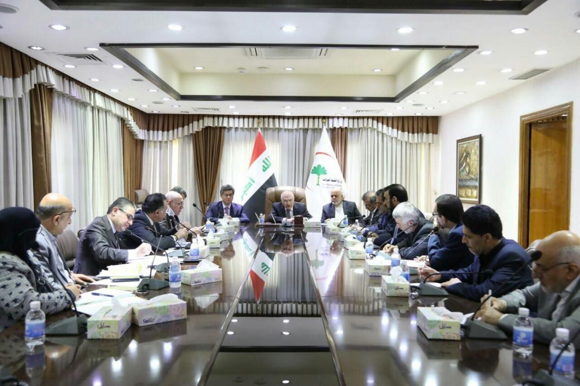 خبرنگاران کرونا محور اصلی مذاکره سفیر ایران و وزیر بهداشت عراق