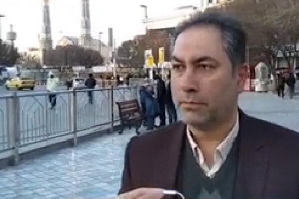 فیلم، پیغام مشهدی ها به مسافران نوروزی: سفر نکنید ما نایب الزیاره شما هستیم