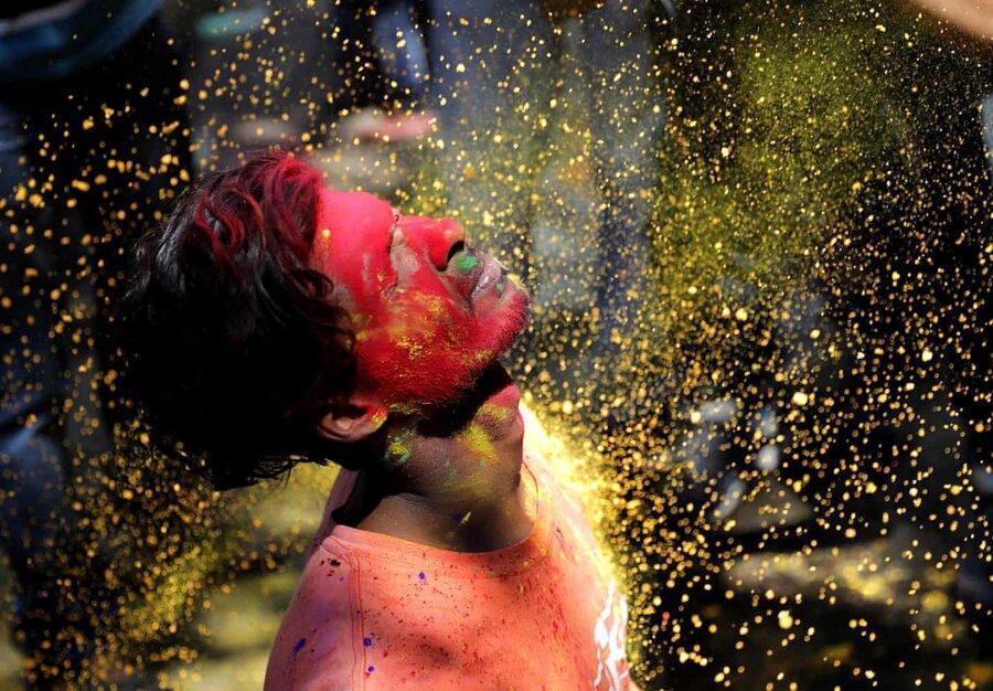 عکس روز: جشن رنگ ها