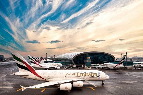حرکت هواپیماها در فرودگاه های امارات متوقف می شود