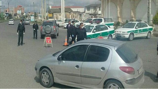 خدمات بی وقفه پلیس در روزهای بحران کرونا