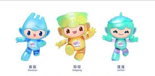 رونمایی از عروسک های بازی های آسیایی 2022