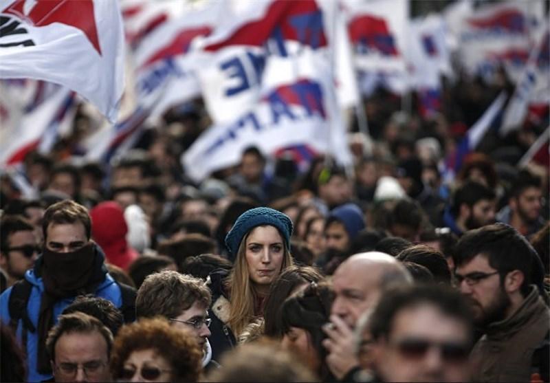 تظاهرات هزاران نفر در یونان در اعتراض به اصلاح نظام بازنشستگی