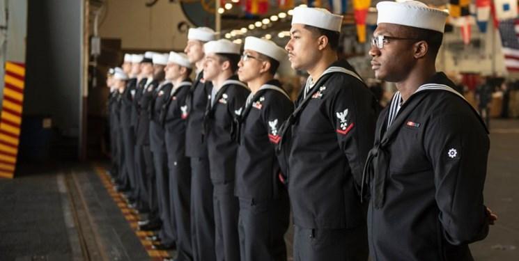 950 نفر از پرسنل نیروی دریایی آمریکا به کرونا مبتلا شده اند