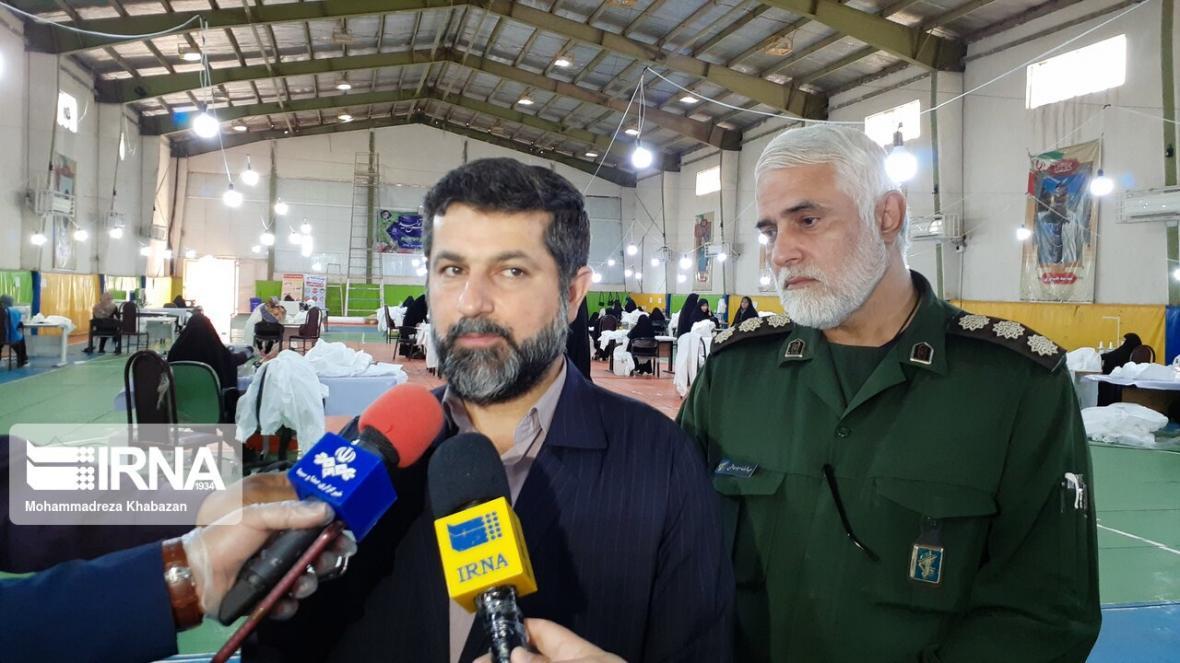خبرنگاران استاندار خوزستان: مراقبت از سلامت کادر درمان اولویت اصلی استان است