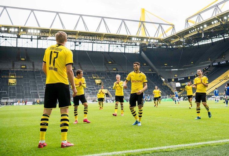بازگشت فوتبال در آلمان؛ دورتموند با برد پرگل برگشت
