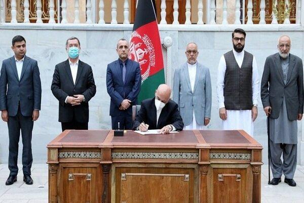 اشرف غنی به طالبان برای مشارکت در قدرت پیشنهاد داده است