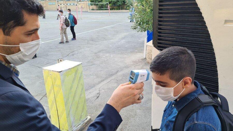 نیمی از دانش آموزان شهر یزد مدرسه نرفتند