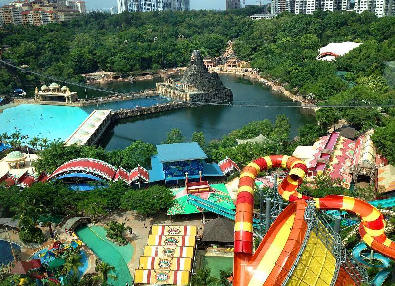 پارک تفریحی سان وی لاگون کوالالامپور، تصاویر