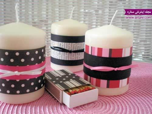 آشنایی با هنر شمع سازی