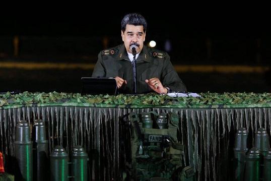 مادورو: از ایران، چین، روسیه و کوبا مشورت دفاعی-نظامی می گیریم