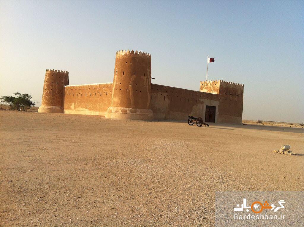 جاذبه های قطر؛ از قلعه آل زوباره تا تفرجگاهی به شکل نعل اسب، عکس