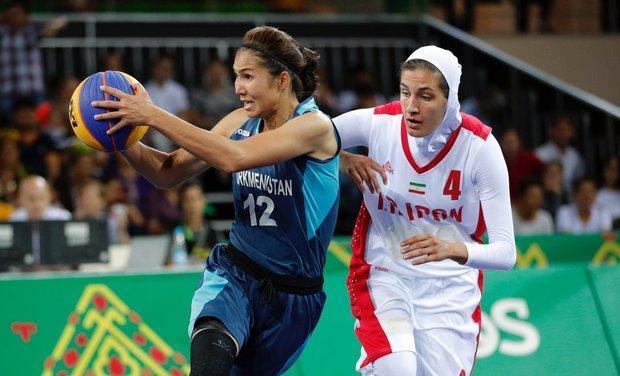 حضور قطعی تیم بسکتبال سه نفره بانوان در مسابقات گزینشی المپیک