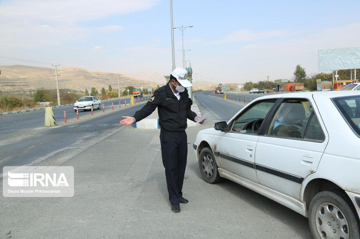 خبرنگاران حضور مسافران در مناطق ییلاقی مهریز ممنوع شد