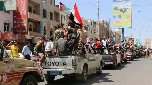 خبرنگاران نیروهای مورد حمایت امارات از عدن خارج شدند