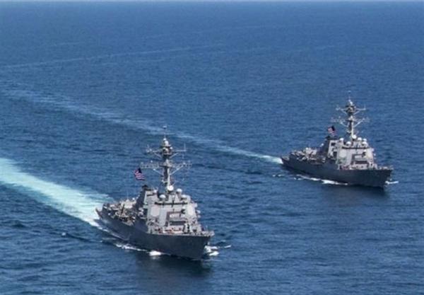 واکنش چین به حضور ناو آمریکایی در تنگه تایوان