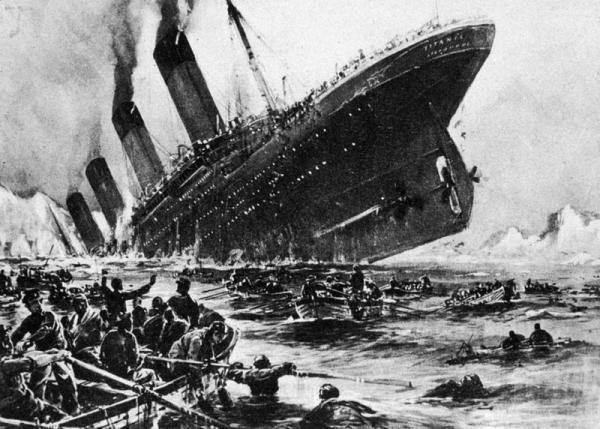 در کشتی تایتانیک چه گذشت؟