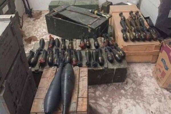 کشف و انهدام 40 بمب آماده انفجار در استان الانبار