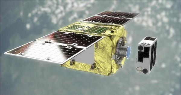 ارسال ماهواره جمع کننده زباله های فضایی به فردا موکول شد ارسال ماهواره جمع کننده زباله های فضایی به فردا موکول شد