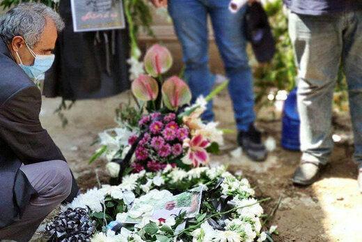 پیکر نادر دست نشان در خانه ابدی اش آرام گرفت