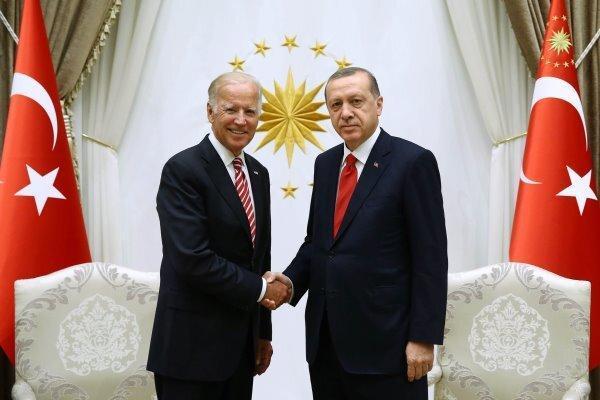 بایدن و اردوغان در حاشیه نشست ناتو با یکدیگر ملاقات می نمایند