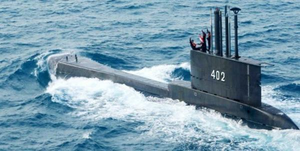 یک فروند زیر دریایی ارتش اندونزی گم شد