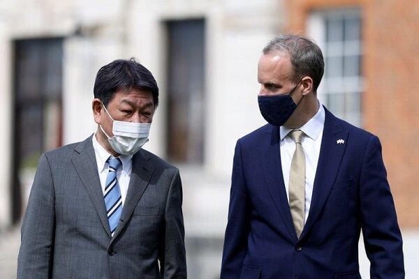 تاکید لندن و توکیو بر لزوم افزایش روابط دوجانبه امنیتی و مالی