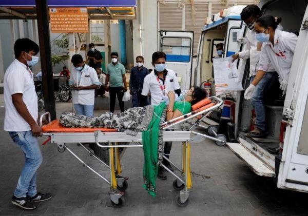 تلفات کرونا در هند از 222هزار نفر گذشت