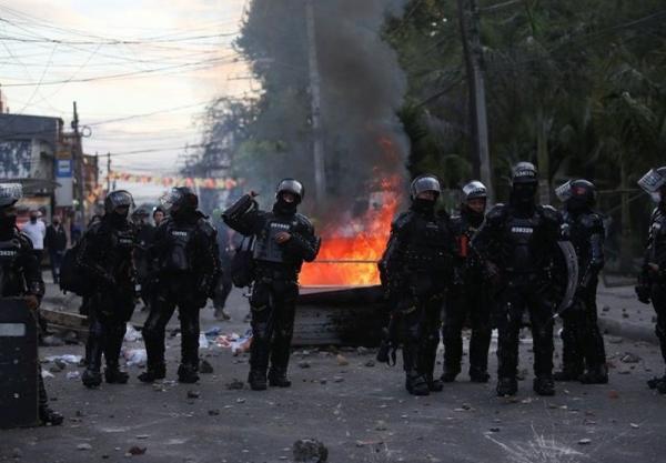بالا دریافت اعتراضات؛ ارتش در یک استان کلمبیا مستقر می شود