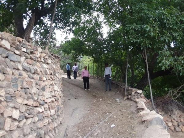 شروع بازسازی، بهسازی و ساماندهی بافت تاریخی روستای قوزلو