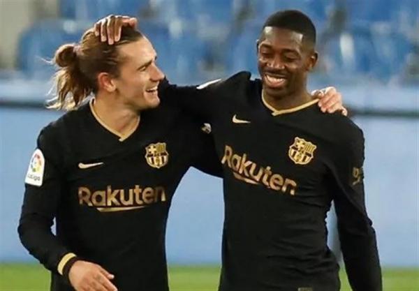 عذرخواهی باشگاه بارسلونا بابت جنجال گریزمان و دمبله، کونامی مقابله به مثل کرد، راکوتن تهدید