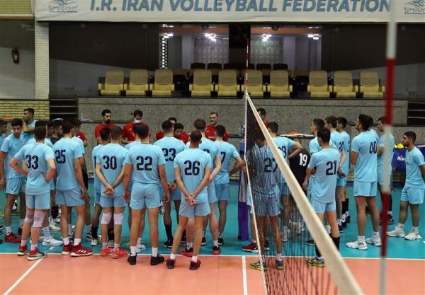 شروع اردوی جوانان والیبالیست در آزادی، میرزاجان پور، کریمی و اسماعیل نژاد هم اضافه می شوند
