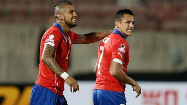 فهرست تیم ملی فوتبال شیلی برای حضور در جام ملت های آمریکای جنوبی اعلام شد