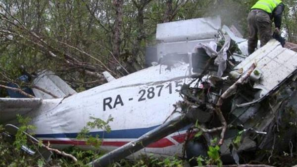 سقوط هواپیمای روسی با 6 سرنشین